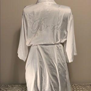 Silky Bride Robe
